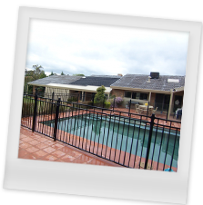 Tubular Steel Pool Fencing